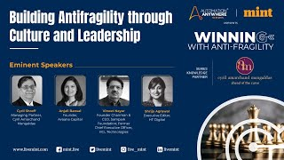 Mint Winning with Anti Fragility - Building Antifragility through Culture & Leadership