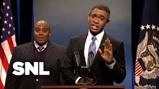 President Obama After Mandela's Funeral - SNL
