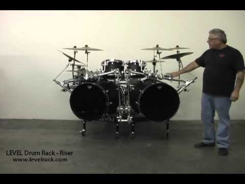 LEVEL Drum Rack - Riser Introduction to U.C.R. - YouTube