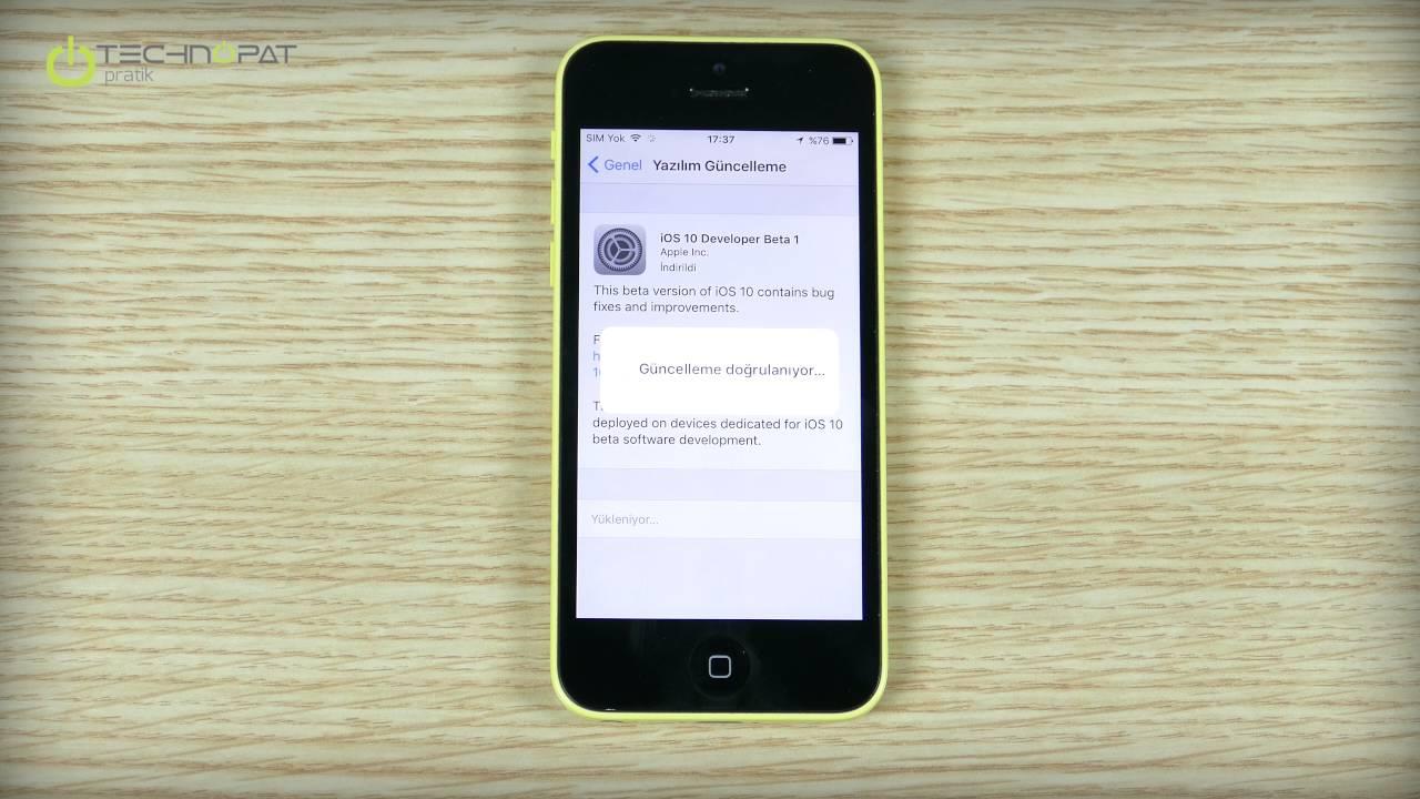 iphone 8 Plus yazılım güncelleme yok