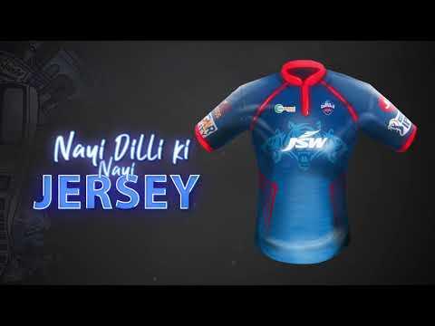 Delhi Capitals Jersey - IPL 2021 | Nayi Dilli Ki Nayi Jersey