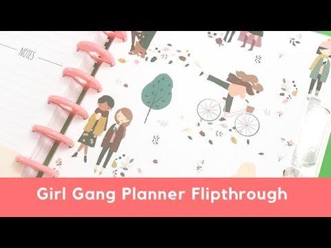 Girl Gang Planner Flipthrough