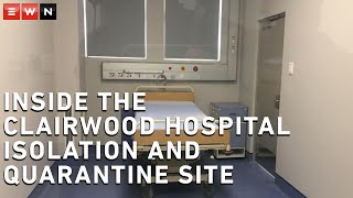 A newly refurbished quarantine site was launched on 2 June 2020 at the Clairwood hospital in Durban. The facility has been set up as part of the response plan to the COVID-19 pandemic.