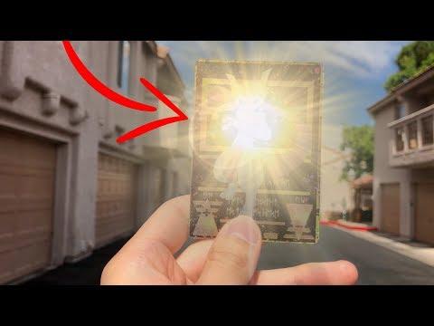 I GOT THE RAREST POKEMON CARD EVER MADE! (So Beautiful..)