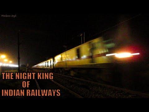 Bangalore Rajdhani Express: The Night KING of IR Turns 25 || High Speed Attacks and Overtakes
