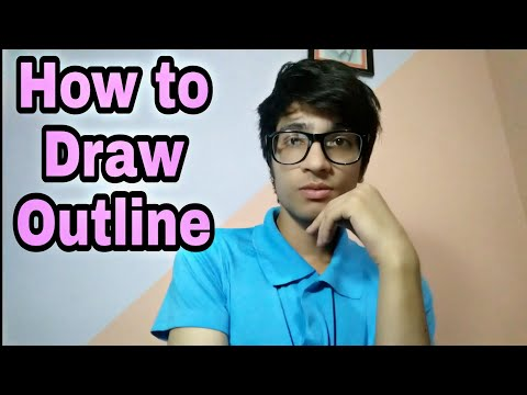 How To Draw Outline