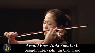 Heifetz 2015: Sung-Jin Lee & Jun Cho   Arnold Bax: Sonata for Viola and Piano - I