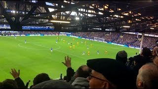 Wolves fans at Everton away (2/2/19)
