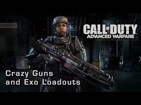 Call of duty advanced warfare sniper full guide rail gun sniping