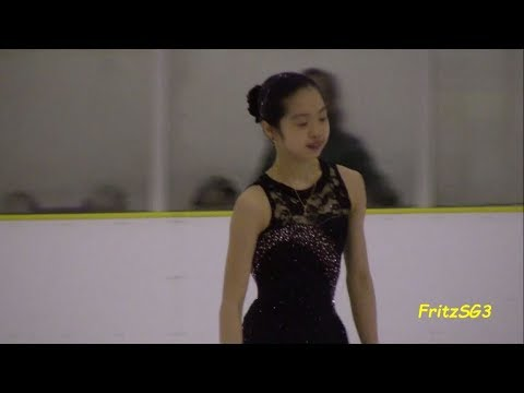 Ceciliane Mei Ling Hartmann (Singapore) - 2012 Singapore National Figure Skating Competition