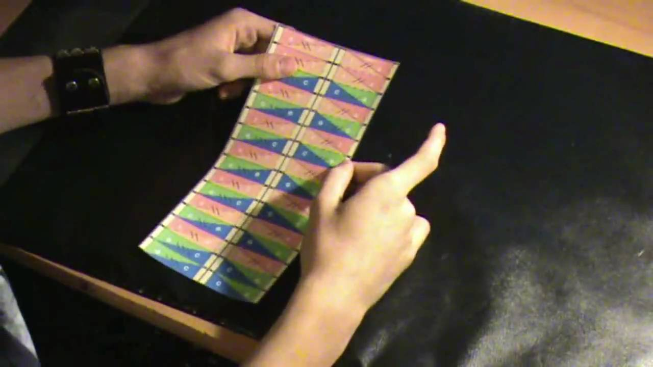 Origami DNA tutorial by Magic Leon - YouTube