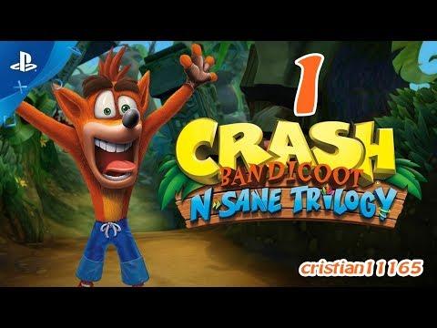 CRASH BANDICOOT N-SANE TRILOGY PS4 - CRASH BANDICOOT 1 - ESPAÑOL HD #1