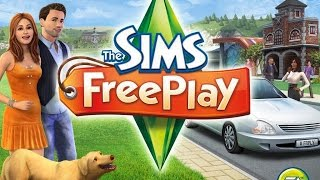 The Sims FreePlay✡Создание персонажа✡Обучение персонажа