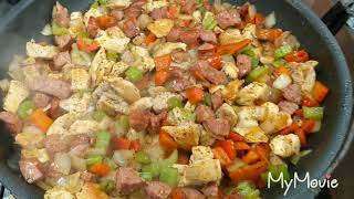 Chicken & Sausage Etouffee