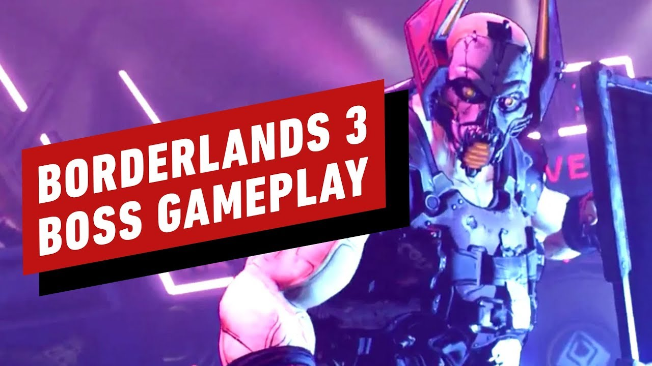 Borderlands 3 Boss Fight Gameplay - Mundstück + video