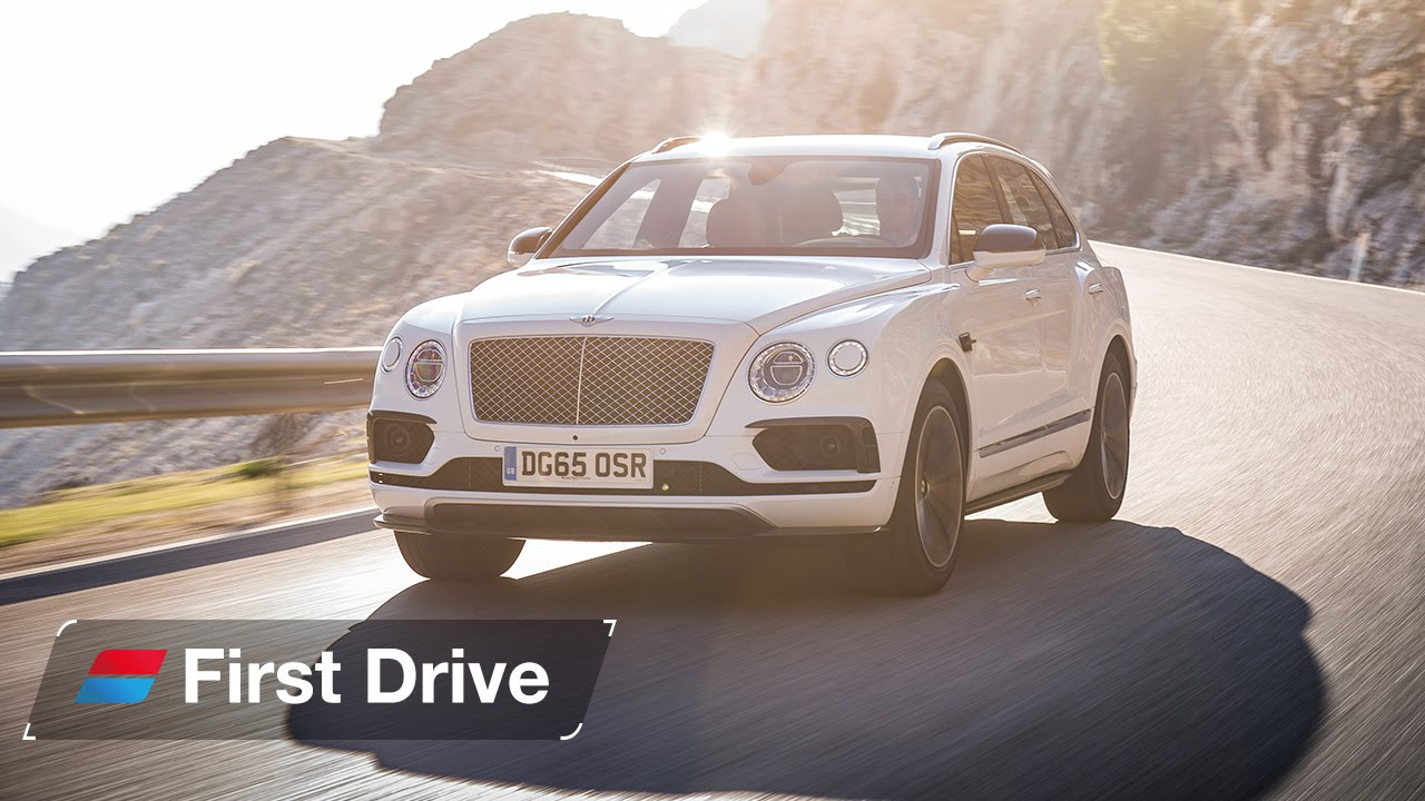 2016 Bentley Bentayga first drive review - YouTube