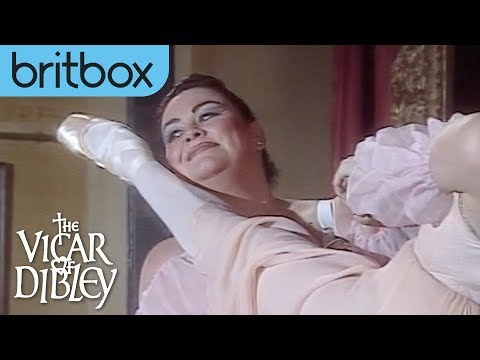 Geraldine And Darcey Bussell's Ballet Performance | The Vicar Of Dibley