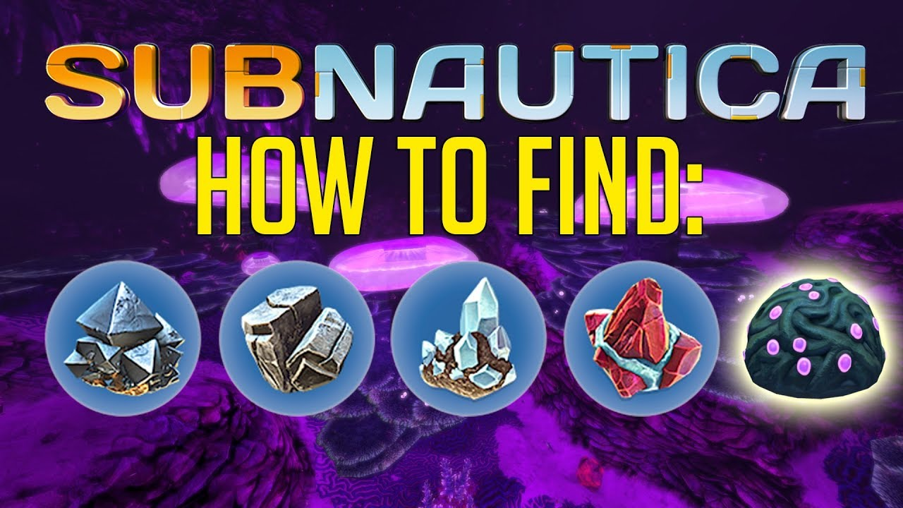 Subnautica How To Find Magnetite Diamonds Rubies Gelsacks Lithium Youtube I don't see a need to have one at my base in the safe shallows, since i have a pretty good idea. subnautica how to find magnetite diamonds rubies gelsacks lithium