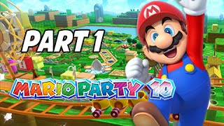 Game | Mario Party 10 Gameplay Walkthrough Part 1 Mushroom Park Uncensored w Friends Wii U | Mario Party 10 Gameplay Walkthrough Part 1 Mushroom Park Uncensored w Friends Wii U