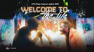 Tamer Hosny FT Akon Welcome to the life JJTX Music festival Jeddah 2020 تامر حسني و إيكون/