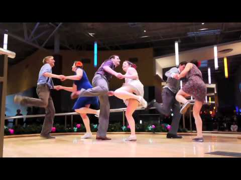 1of2 - Black Friday SWING DANCE FLASH MOB