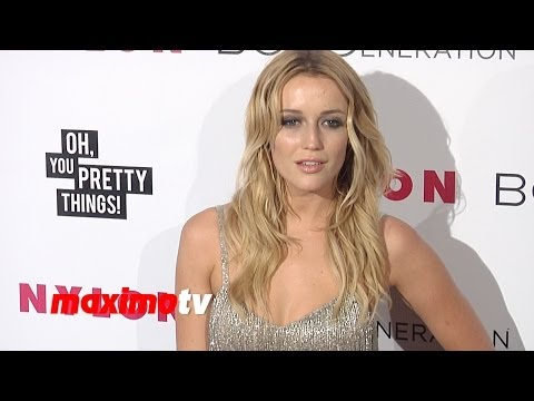 Sarah Dumont NYLON & BCBGeneration Young Hollywood Party Red Carpet