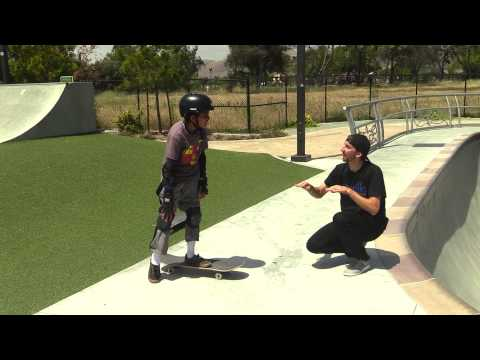 SKATEBOARD LESSONS | OLLIE STEPS