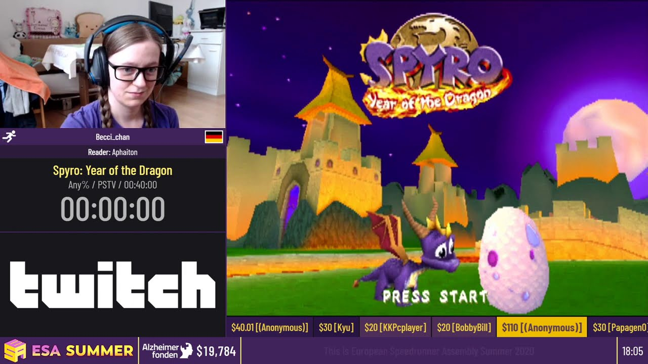 Spyro: Year of the Dragon [Any%] by Becci_chan - #ESASummerOnline