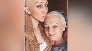 Mother and daughter battling cancer at the same time
