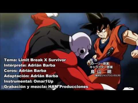 Musica de dragon ball super en español xd