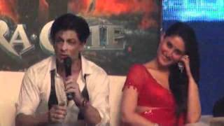 Kareena Kapoor Shahrukh Khan  RA ONE press meet