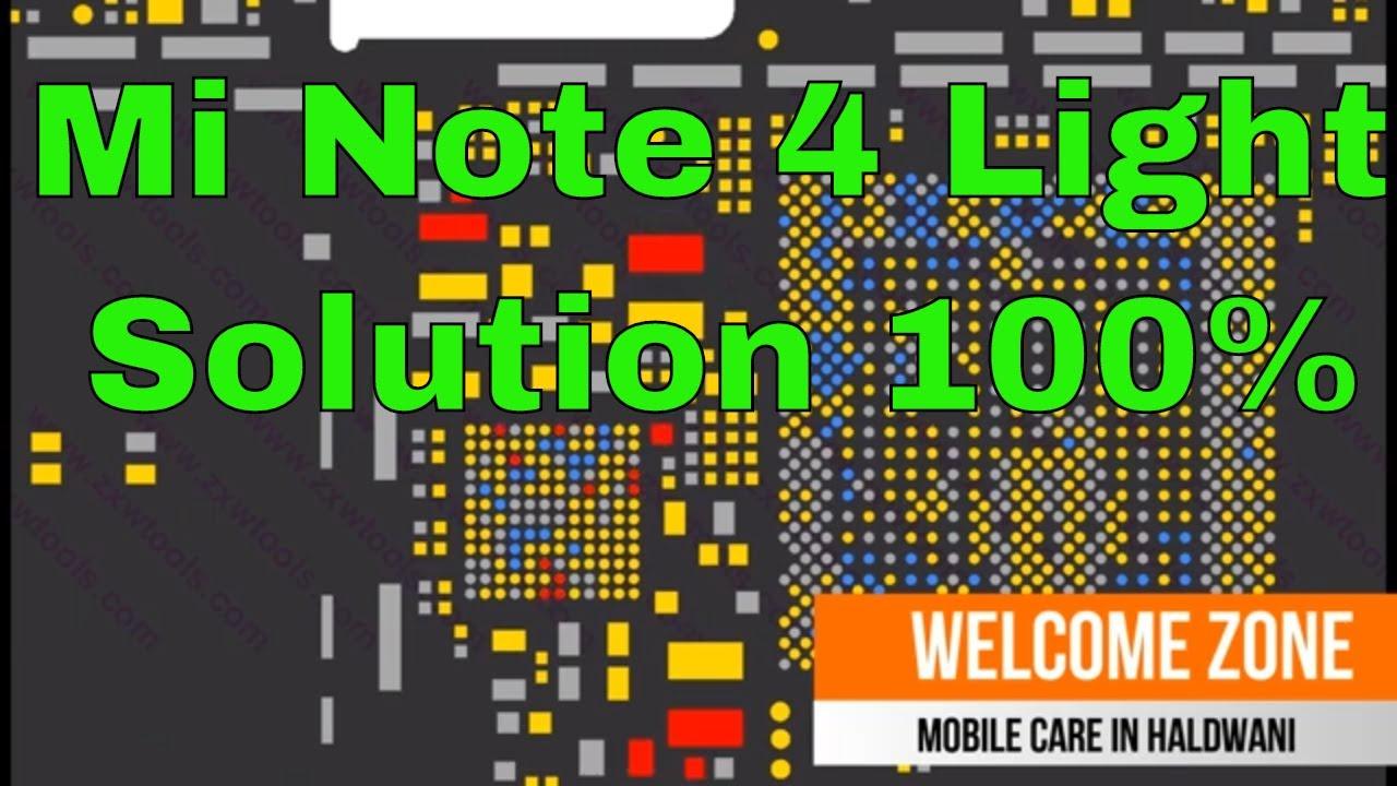 Mi Note 4 Display Light Solution