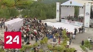 В горном парке Карелии поют итальянскую оперу