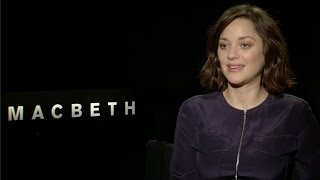 Marion Cotillard Talks