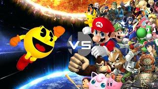 SSB4 Montage - Pac-Man vs Smash Bros
