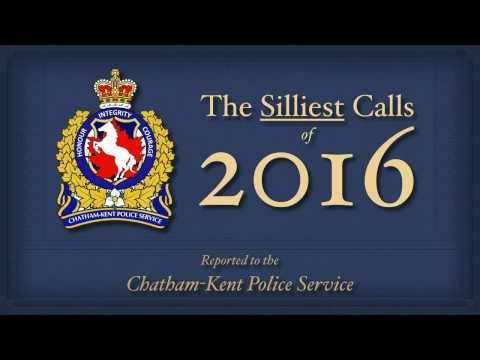 CKPS Silliest Calls 2016