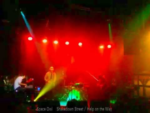 SPACE OWL plays Shakedown Street & Help on the Way