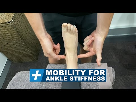 Mobility for Ankle Stiffness Pt.1. Dorsiflexion   Tim Keeley   Physio REHAB