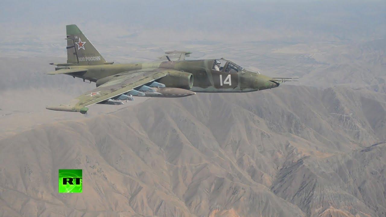 Российские штурмовики Су-25 переброшены из Киргизии на Южный Урал