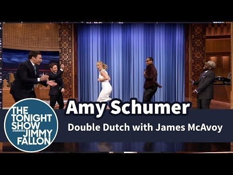 Thumbnail: Amy Schumer Plays Double Dutch with Jimmy, James McAvoy and The Roots