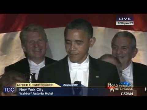 "Obama Jokes About Middle Name ""Hussein"""