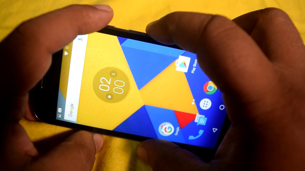 How To Take Screen Shot On Moto G4 Play