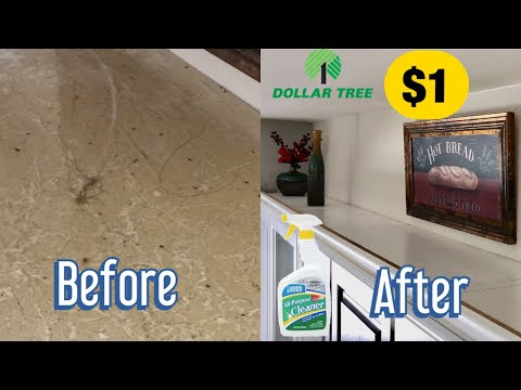 Dollar tree all purpose cleaner removes thick grease and grime. The result was unbelievable!