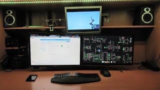 Рабочее место программиста радиолюбителя