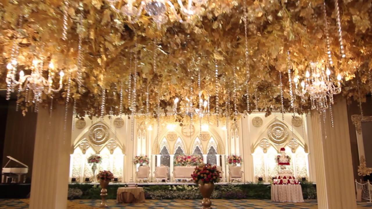 White Pearl Decoration The Hall Senayan City Youtube