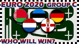 Euro 2020 Qualifiers Marble Race - Euro Group C