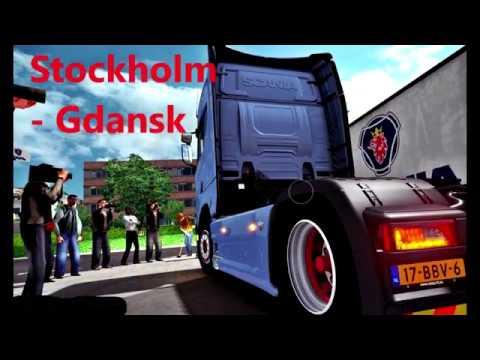 Euro truck simulator 2 traveling Scandinavia!!!  