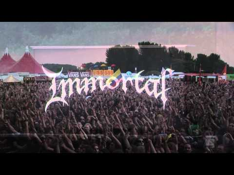 Immortal at BOA 2011 Live Announcement - Bloodstock Open Air 2010