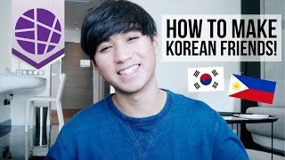 HOW TO MAKE KOREAN FRIENDS (For Foreigners) | EL's Planet