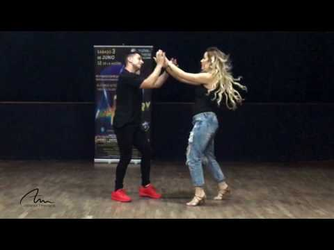 Alfonso y Mónica | Bachata | Si a veces hablo - Alfil | Aniversario Noches de Bohemia